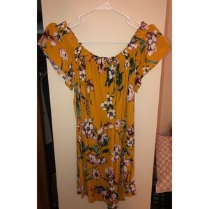 Floral Off the Shoulder Dress (pic included)